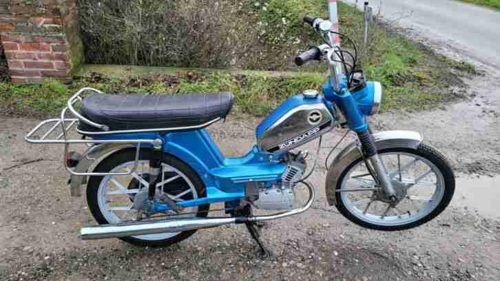 Zündapp ZD30 Moped läuft und fährt 2 Gang Handschaltung keine Papiere Bj.1978