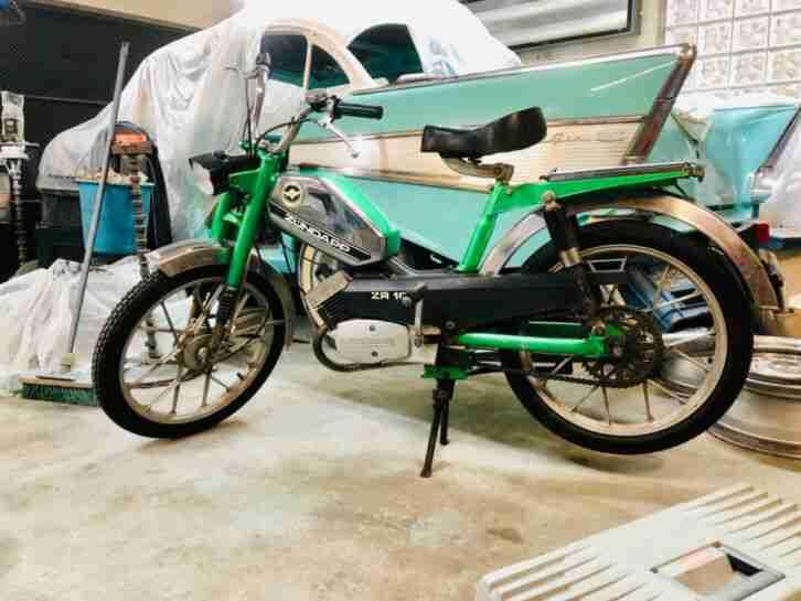Zündapp ZR 10 Mofa Originalzustand fährt ZR 20 GS KS Moped selten Roller