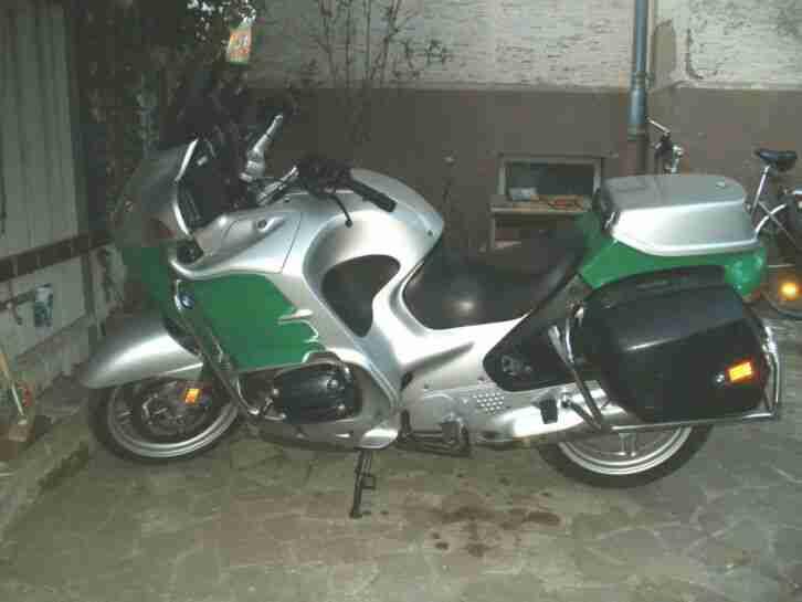 bmw R 1150 RT Polizei Behördenkrad Police motorrad.