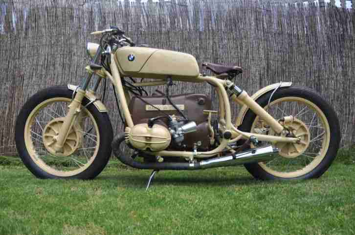 custom, bobber, cafe BMW r60/6 1974 TUV DEKRA