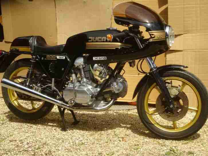 Ducati 900 SS Desmo Oldtimer