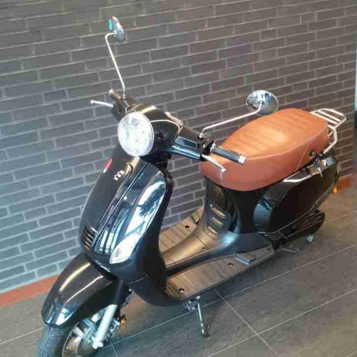 escooter elektro roller ebike 45 kmh milano bestes. Black Bedroom Furniture Sets. Home Design Ideas