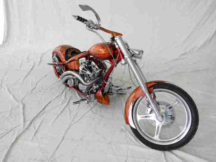 harley Custom Bike Dragstyle 140 PS 127 Cui