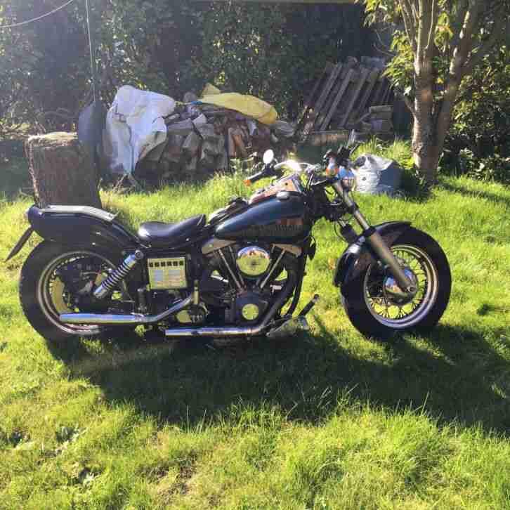 Harley Davidson Shovelhead Gebraucht
