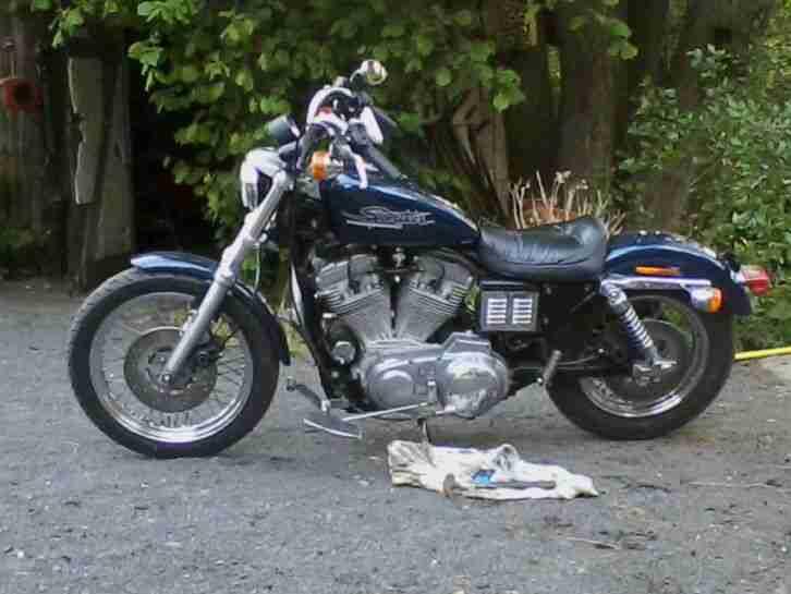 Harley Davidson Sportster. 34000 km. Motorrad. Tüv. Vergaser. K&N. Original.