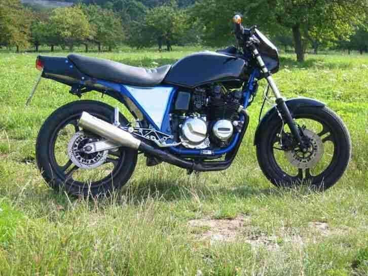 Kawasaki GPZ 550 UNI TRACK Cafe Racer Streetfighter Oldtimer Kult
