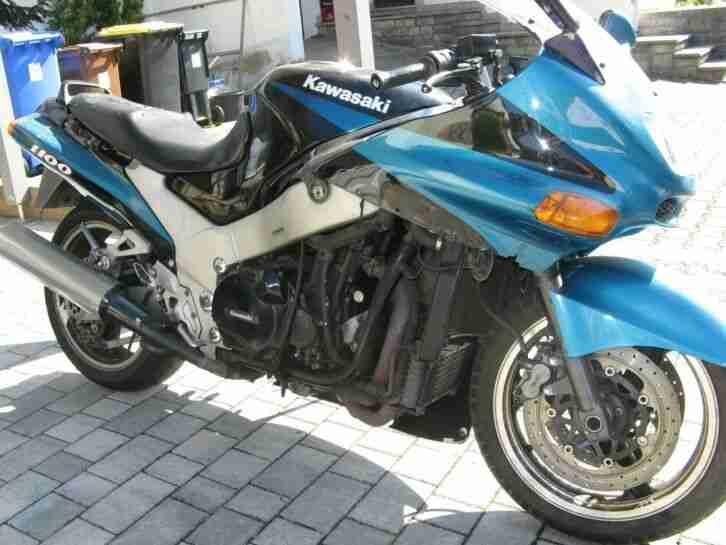 Kawasaki ZZR 1100 D defekt, 77200 km