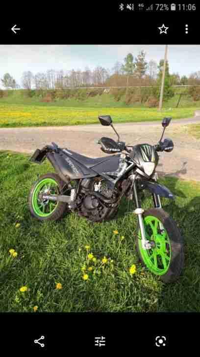 kreidler Supermoto 125 ccm Moped Enduro keine Yamaha TÜV 4 21