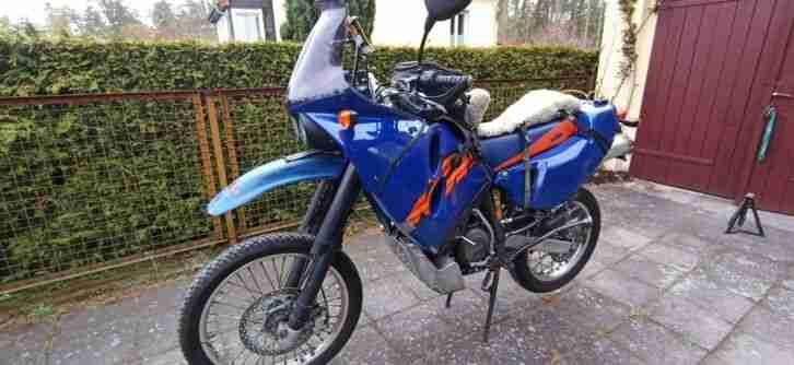 KTM LC4 640 Adventure, ideal fuer Fern und Extremreisen