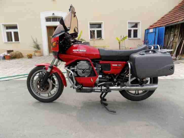 Moto Guzzi V1000 SP Rundmotor HU 08 2023
