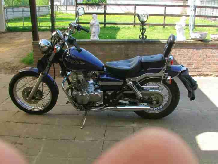 motorrad Honda Rebell 125