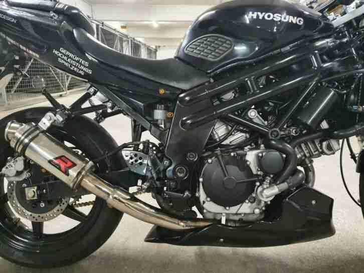 motorrad hyosung gt 650 niked bike tüv neu