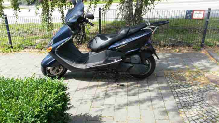 motorroller 125ccm mbk skyliner 62400km bestes angebot. Black Bedroom Furniture Sets. Home Design Ideas
