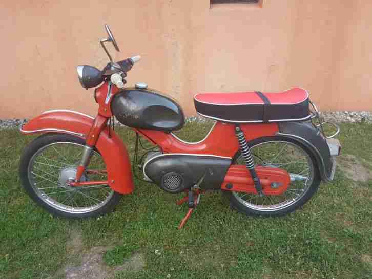 sehr seltene Kreidler Florett K53 1M Moped Mokick Oldtimer