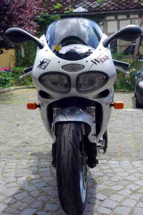 seltene top gepflegte Triumph Daytona West Edition
