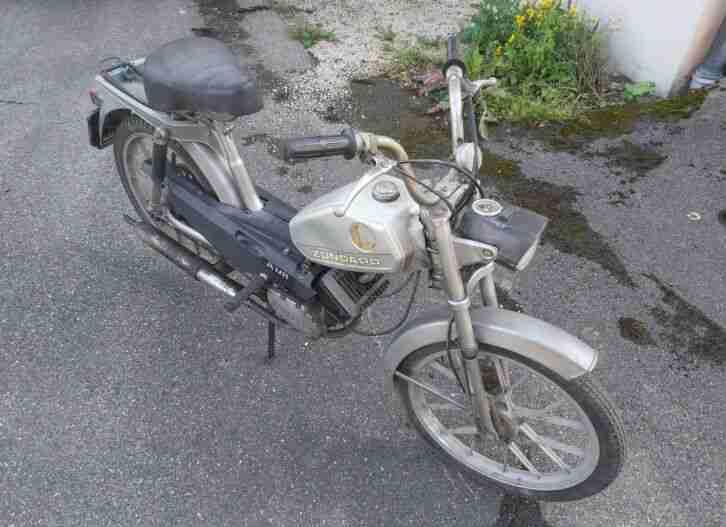 Zündapp ZA25 Mofa 460 02 Scheunenfund Moped