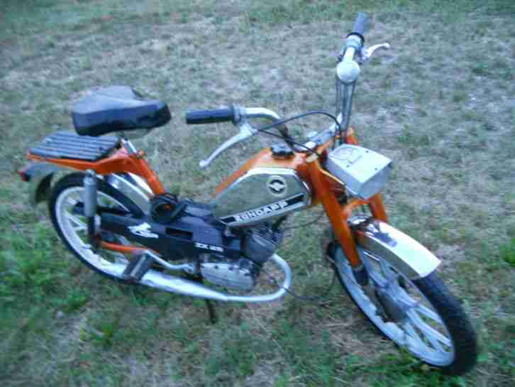 zündapp ZX25-2gang mofa bj.81-m.papers