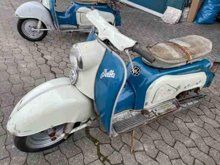 zündapp bella 204 1959 Bella 551 025 1961 Oldtimer 2 Stück