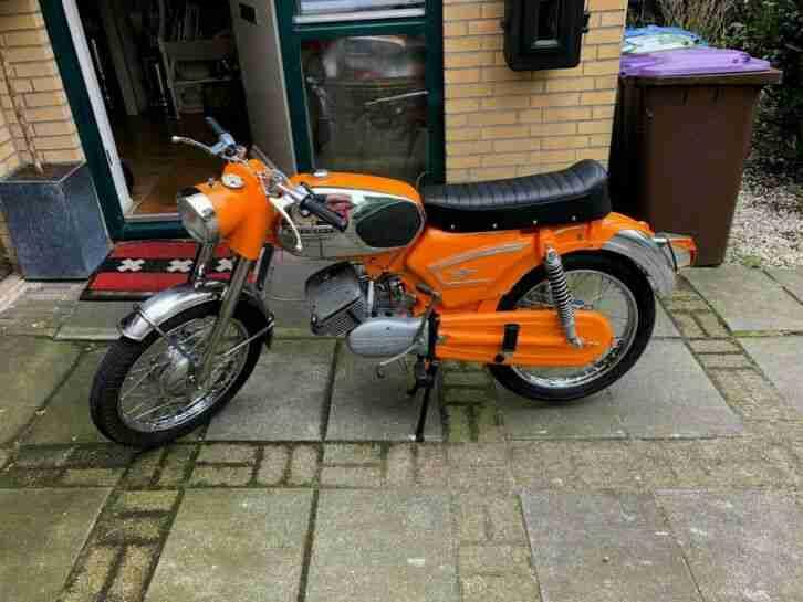 zundapp ks50 Kleinkraftrad 1973 Neu aufbau mit 80% original NOS Teile Neuw.Zust.
